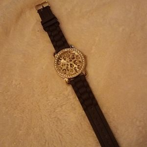 Womens leopard print watch